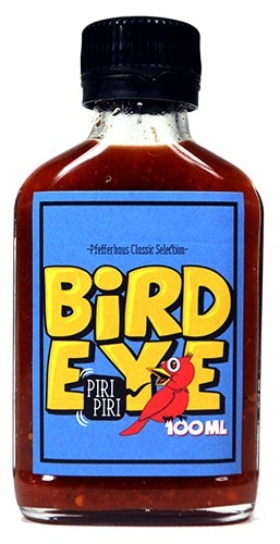 Chili Bird Eye Sauce, die Bissige, 100 ml